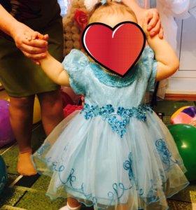 Детское платье на 12-18мес.