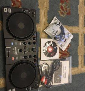 DJ midi controller