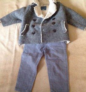 Пальто и брюки Zara