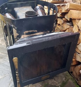 Печь дровяная Везувий