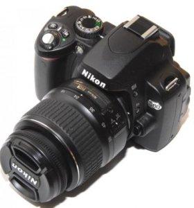 NIKON D-60 зеркальная цифровая камера