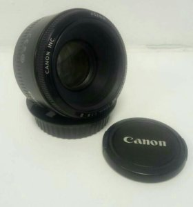 Обьектив Canon EF 50mm f/1.8   