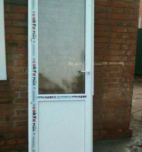 Дверь металло-пластиковая 2385х830