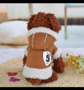Куртка на собаку
