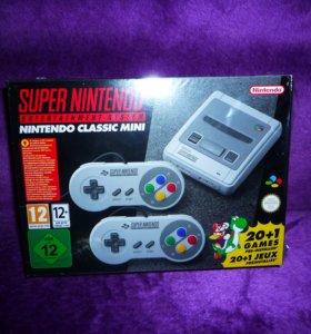 Snes Classic Mini (+100-130 дополнительных игр)