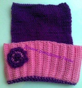 Вязание шапок на заказ.