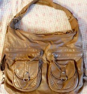 Кожаная сумка 🌹