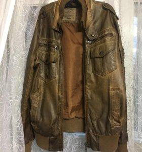 Куртка мужская кожзам размер М