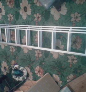 лестница стремянка 3 х секционная 3x9 9 ступений