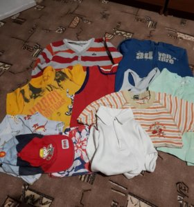 Вещи пакетом на мальчика 3-5 лет