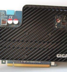 Видеокарта Gigabyte GV-NX86T512H, GF8600GT, 512MB