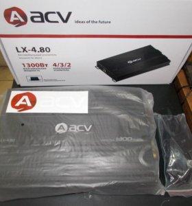 Усилитель ACV LX-4.80 Новый