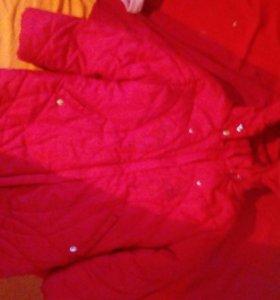 Пальто б.у.на возраст 4.5