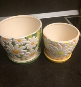 Горшки для цветов (керамика)