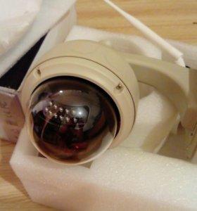 Уличная видеокамера.