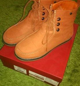 Ботинки из нубука Mascotte, размер 40