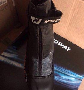 Ботинки для беговых лыж Nordway Race Combi