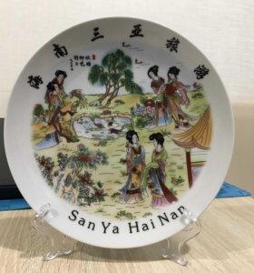 Тарелка Фарфор китайский