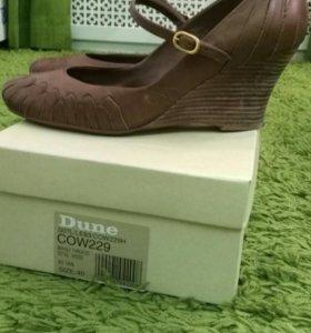 Кожаные туфли фирмы DUNE, размер 40
