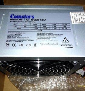 Блок питания ATX 400W Comstars KT-400EX-12A1