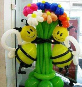 Игрушки и куклы из шаров