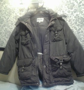 Куртка зимняя рост 146