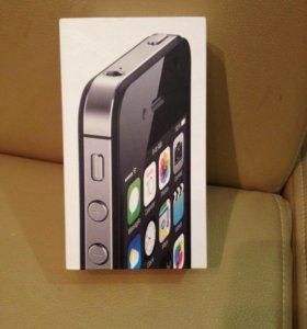 Айфон 4s черный 8гб