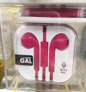 Наушники MP3/MP4 для iPhone 5, 5s, 6, 6s / iPad