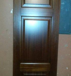 Дверь массив новая