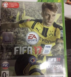 Fifa 2017 на Xbox 360