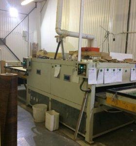 Пресс термо-вакуумный для производства фасадов