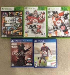 Игры на PS4 и XBOX 360