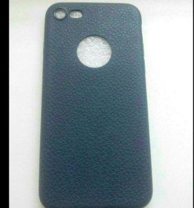 Новый чехол на айфон 7, синий