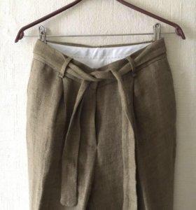 Льняные штаны Massimo Dutti