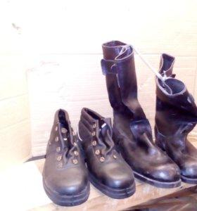 Рабочии ботинки и сапоги