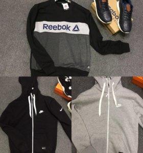 Толстовки Nike ,reebok