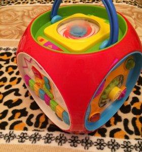 Развивающий куб kiddieland