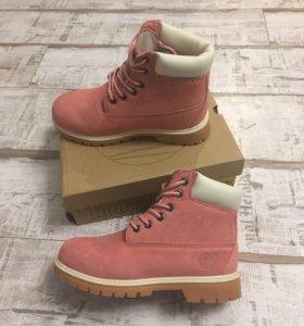 💋Новые Timberland женские ботинки зима