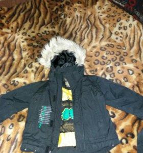 Комплект зимний на мальчика Tokka Kids 92-98р