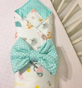 Конверт-одеяло для новорождённых