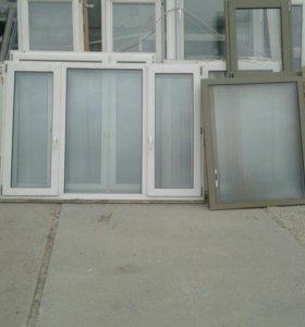 Окна и двери пластиковые БУ
