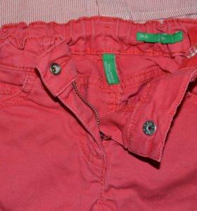брюки benetton с рубашкой