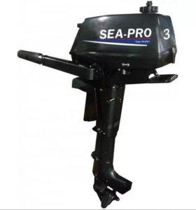 Лодочный мотор SEA PRO 3 БУ