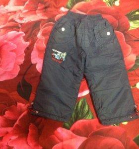 Детские штаны на синтепоне