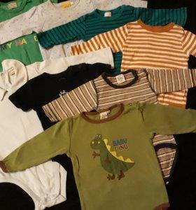 Пакет вещей на мальчика 0-12 месяцев