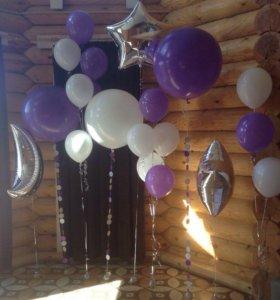 Воздушные, гелиевые, фольгированные шарики