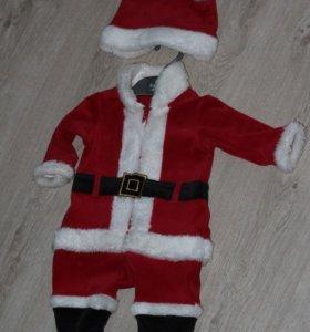 Новогодний костюм Санты Mothercare