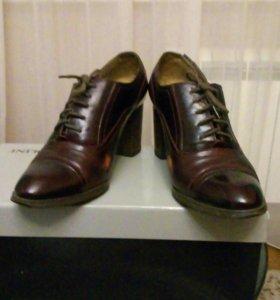 Осенние ботиночки 39