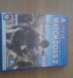 Диск для PS4 watch dogs 2