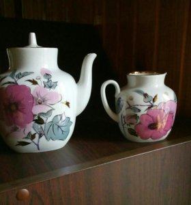 Чайник и молочник ЛФЗ